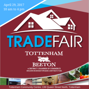 April 29, 201710 am to 4 pmTottenham Rec Centre (2)